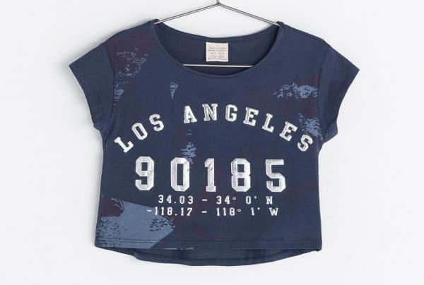 Zara Bambina primavera estate 2014 maglia corta 387664680929