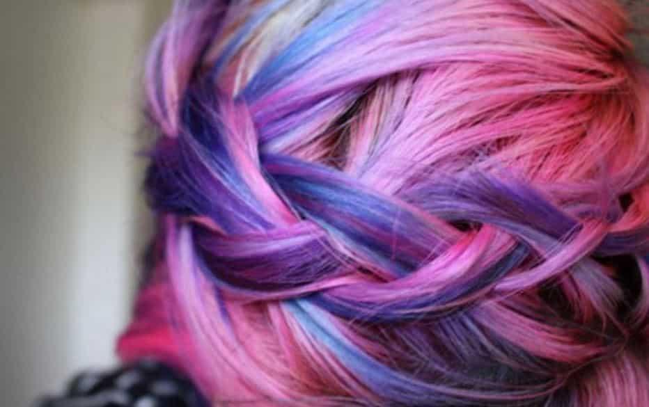 capelli colorati con Kiko