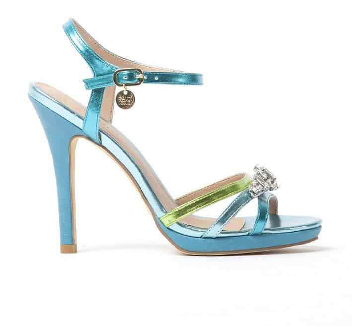 scarpe Gaudi primavera estate 2014 sandalo azzurro
