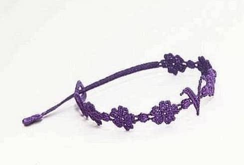 Braccialetto Cruciani Violetta