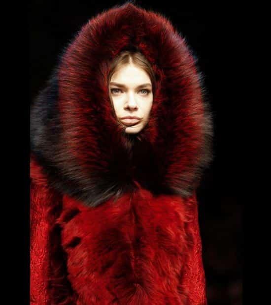 Tendenze Sfilate Milano Moda autunno inverno 2014 2015 pelliccia Dolce e Gabbana