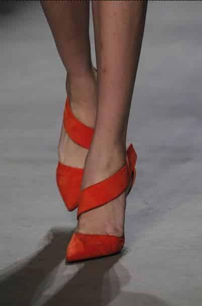 autunno inverno 2014 2015 scarpe Narciso Rodriguez