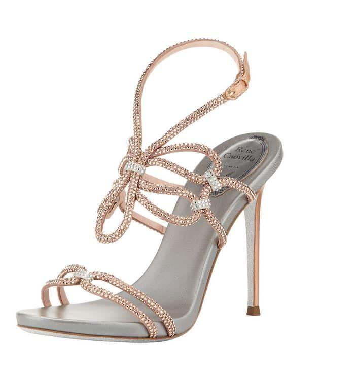 sandali gioiello primavera estate 2014 Rene Caovilla strass