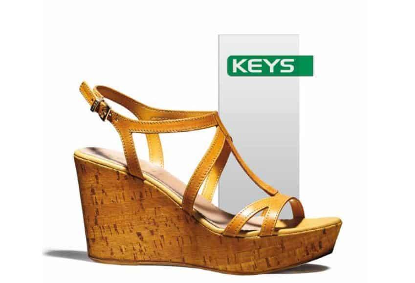 scarpe Keys primavera estate 2014 sandali zeppa