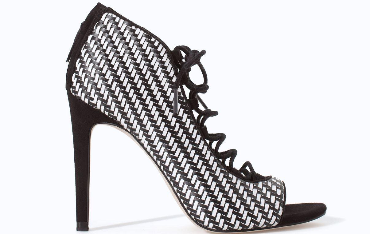 scarpe Zara primavera estate 2014 sandalo cordoncino