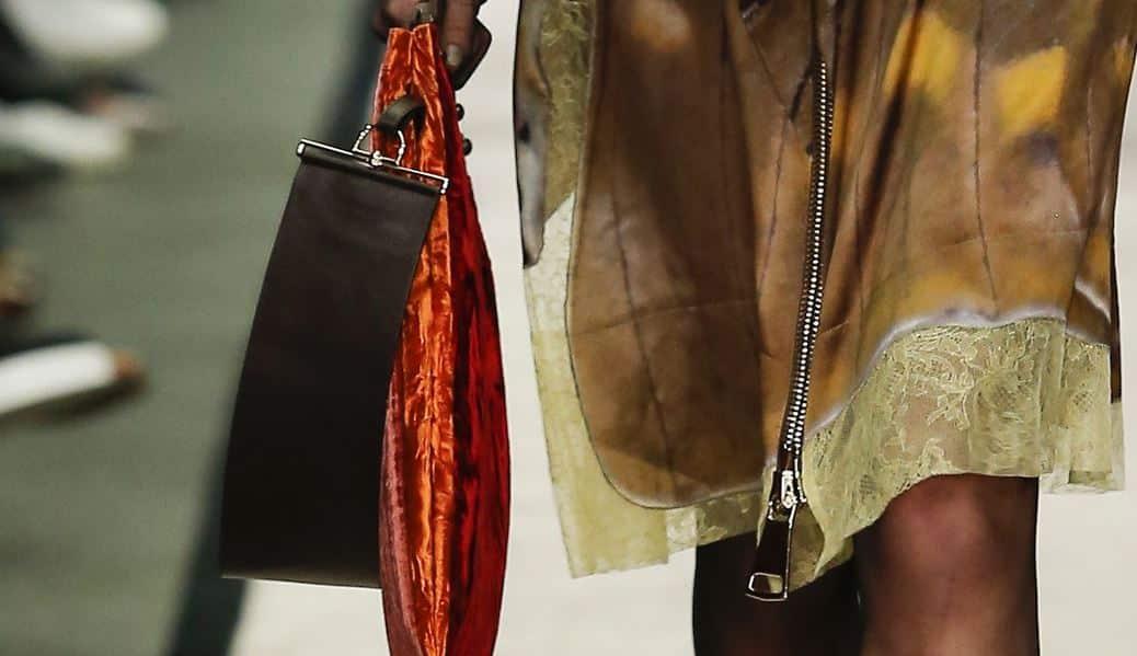 sfilata Givenchy borse autunno inverno 2014 2015 tracolla