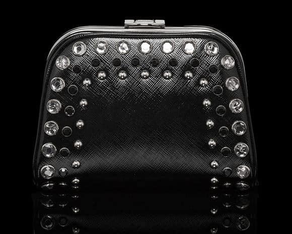 borse Prada 2014 pochette strass