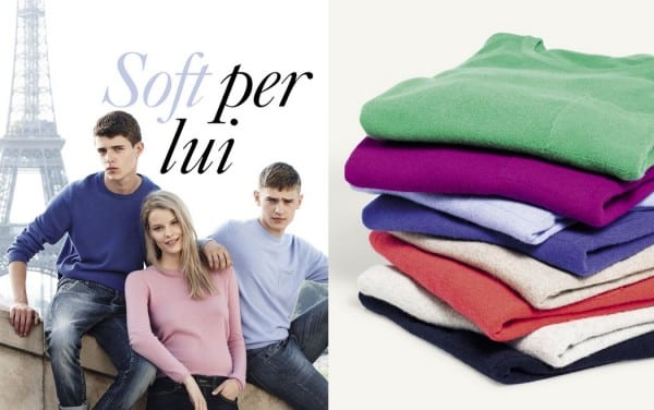 2f8cef54ef Benetton catalogo uomo primavera estate 2014