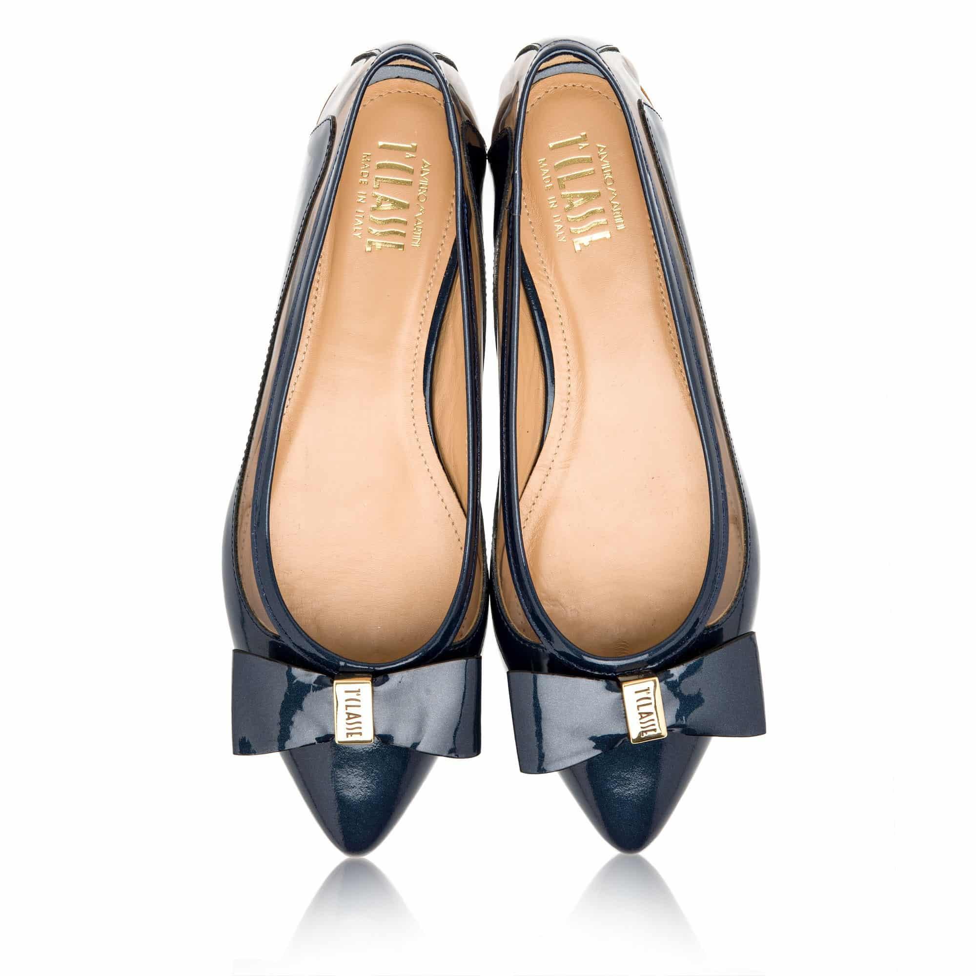 1A Classe Ballerina a punta fiocco blu navy 155.00 euro