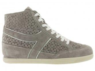 IgieCo sneakers alta scamosciata con zeppa interna 4923624e745