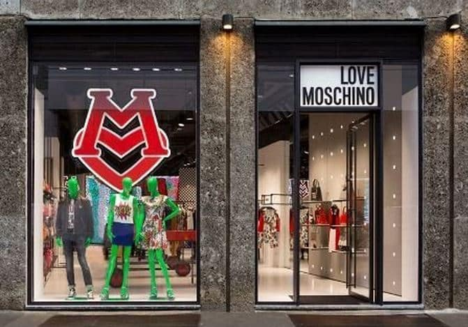 Moschino flagship store Milano