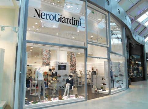 Nero Giardini negozio Marghera