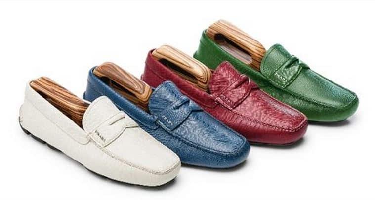 Prada scarpe da uomo su misura