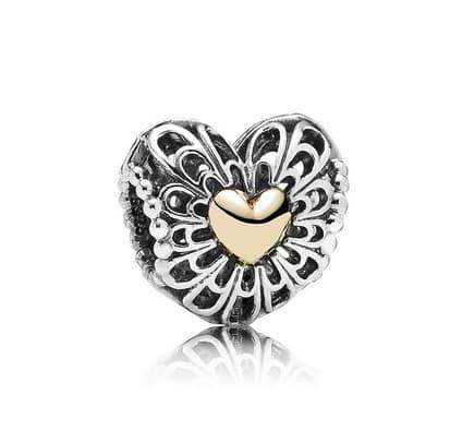 Pandora charm Vintage Heart festa della mamma 2014