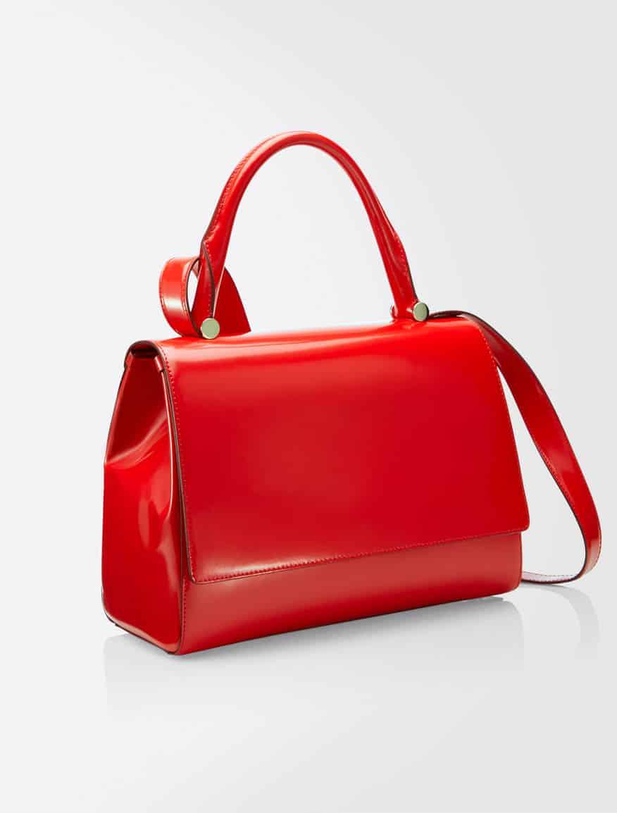 Max Mara Jbag vernice rosso 735,00 euro