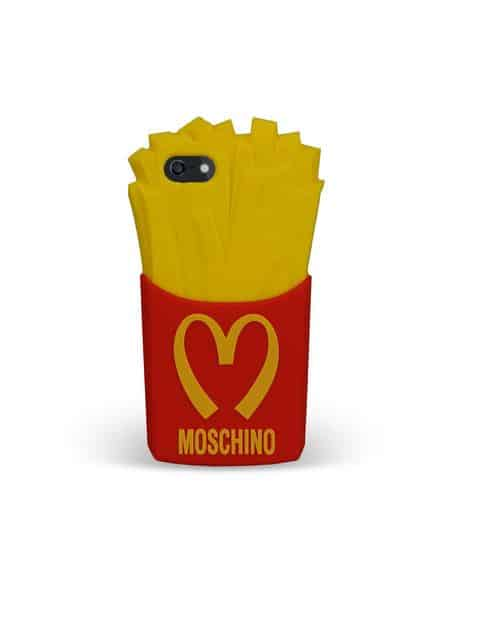 Moschino cover iphone patatine autunno inverno 2014 2015