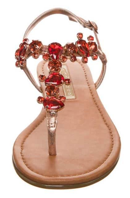 Sandali gioiello bassi 2014 Buffalo