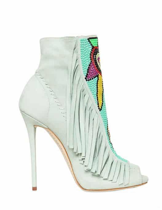 Scarpe estate 2014 tendenze moda etnico stivale Zanotti