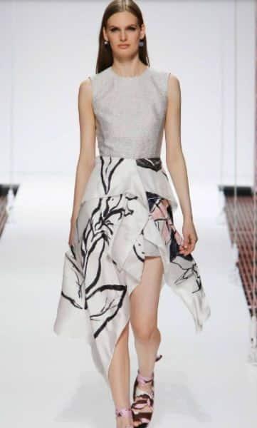 Trend primavera estate 2015 asimmetrie Dior