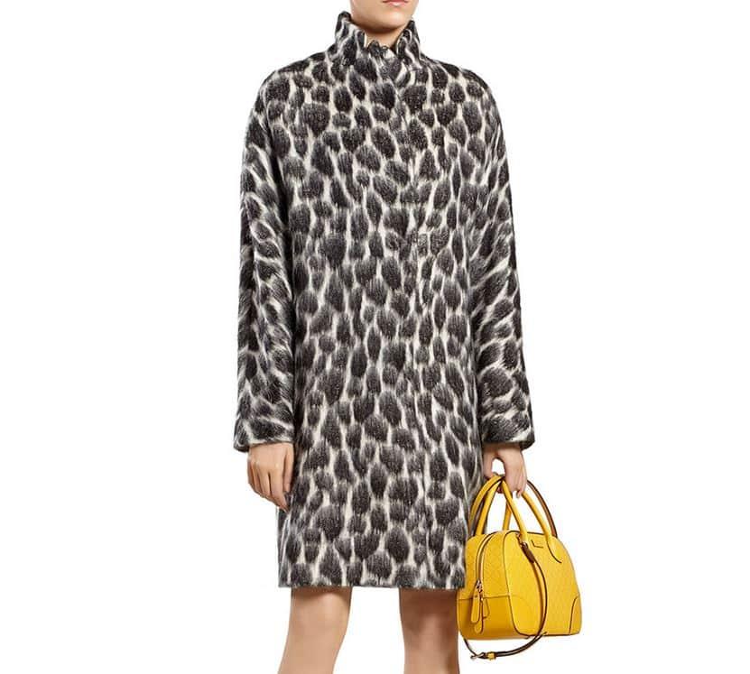 abbigliamento autunno inverno 2014 2015 animalier gucci