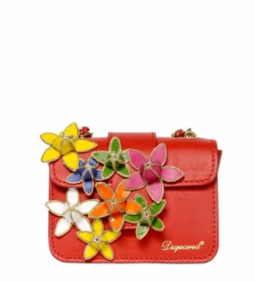borse a fiori 2014 mini bag Dsquared