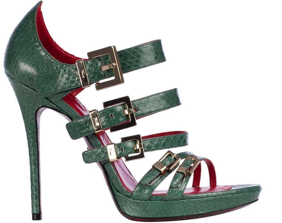 scarpe Cesare Paciotti estate 2014 sandali fibbie