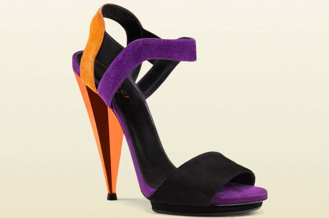 scarpe gucci primavera estate 2014 sandali colorati