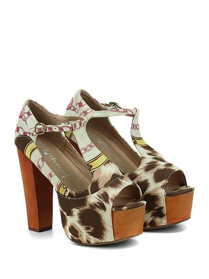 Jeffrey Campbell sandalo alto Foxy Fabric 125.00 euro
