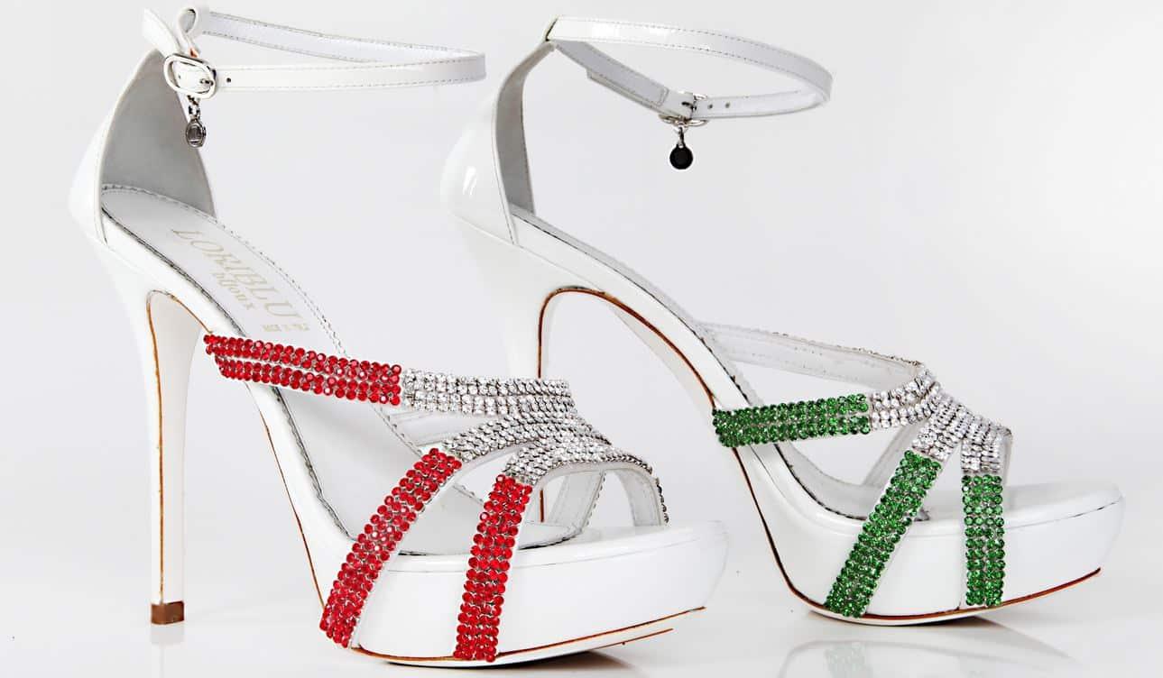 Loriblu scarpe tricolore 2014