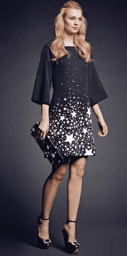 Anna Rachele abbigliamento 2014 2015 tra polvere di stelle e la Parigi anni   20 19566e1ddc4