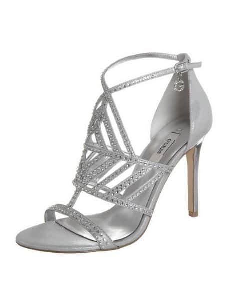 sandali argento 2014 Guess