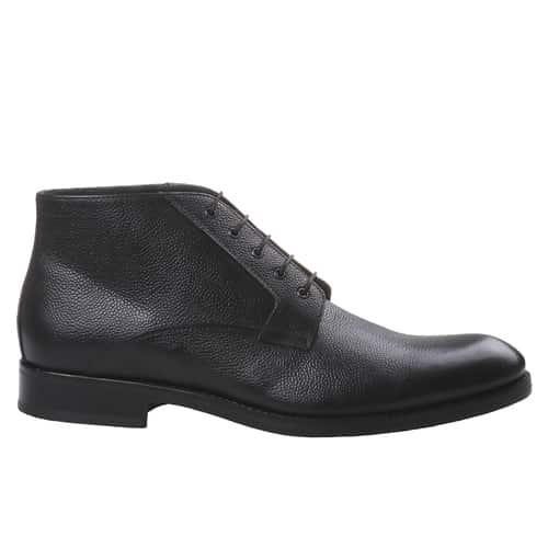 Scarpa elegante alta in pelle nera 89.99 euro