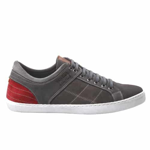 Sneaker bassa in pelle grigia 59.99 euro