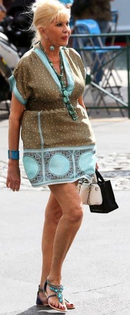 Errori Moda Donne Cinquantenni Ivana Tramp