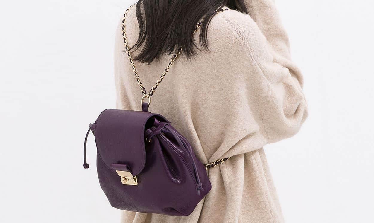 Zaini alla moda autunno inverno 2014 2015 Zara