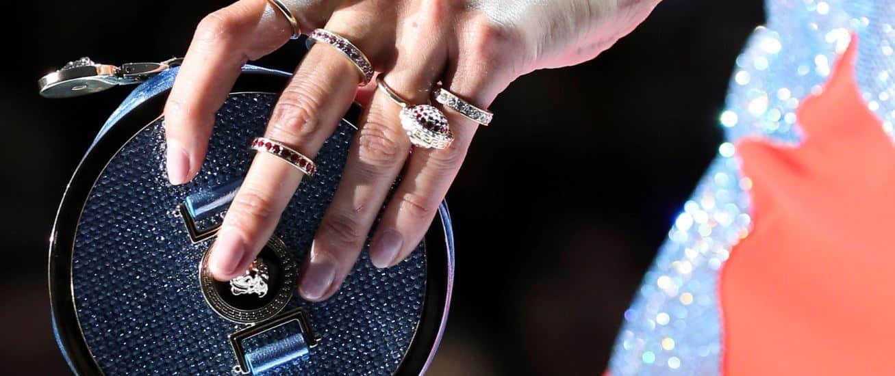Versace borse primavera estate 2015 clutch gioiello