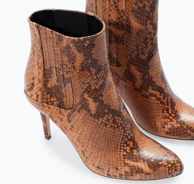 stivali invernali 2015 Zara