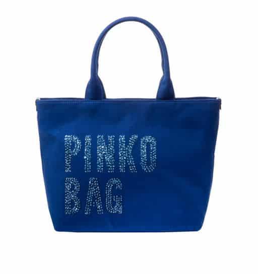 Pinko Bag autunno inverno 2014 2015 blu