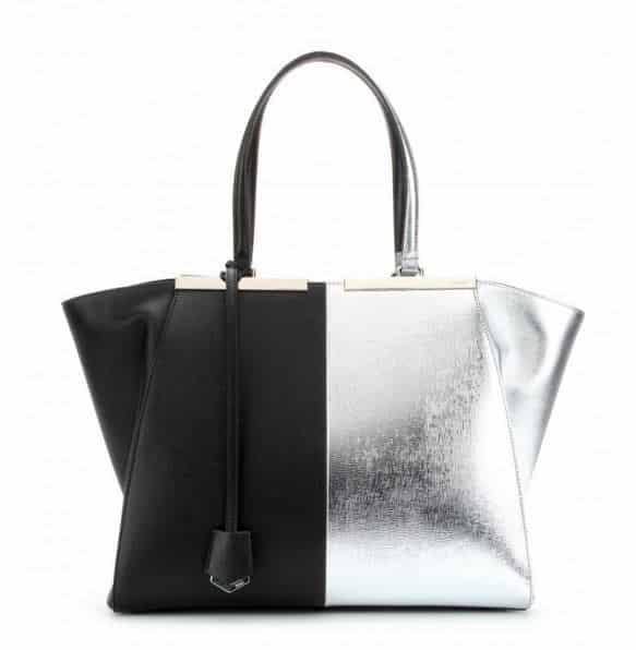 borse metallizzate 2015 Fendi