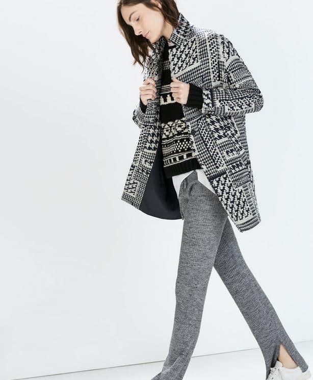 cappotti moda 2015 Zara