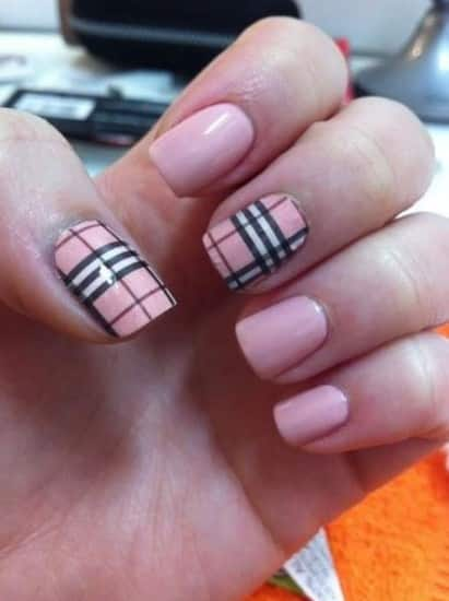 nail art semplici per unghie corte