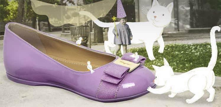 scarpe bambina Ferragamo Mini