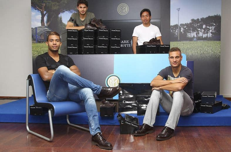 scarpe cesare paciotti uomo FC Inter