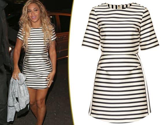 Beyonce Topshop autunno 2015