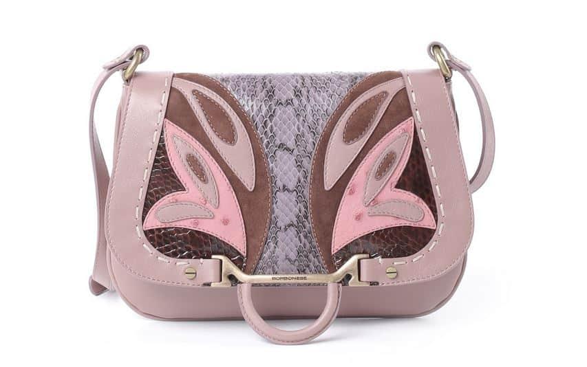 Borbonese borse collezione primavera estate 2015 lady butterfly rosa