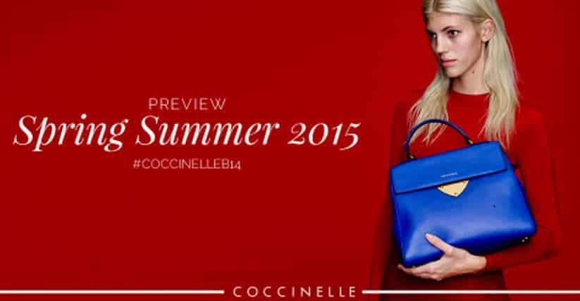 Borse Coccinelle primavera estate 2015