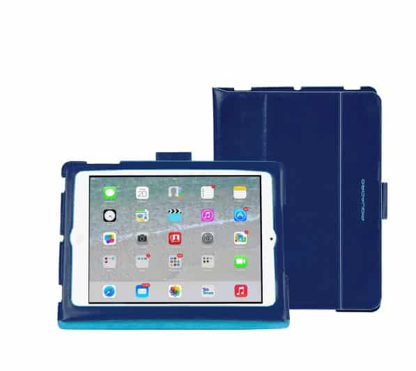 Custodie Ipad Air 2 e Mini moda Piquadro blu