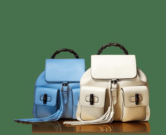 Gucci bamboo sack backpack