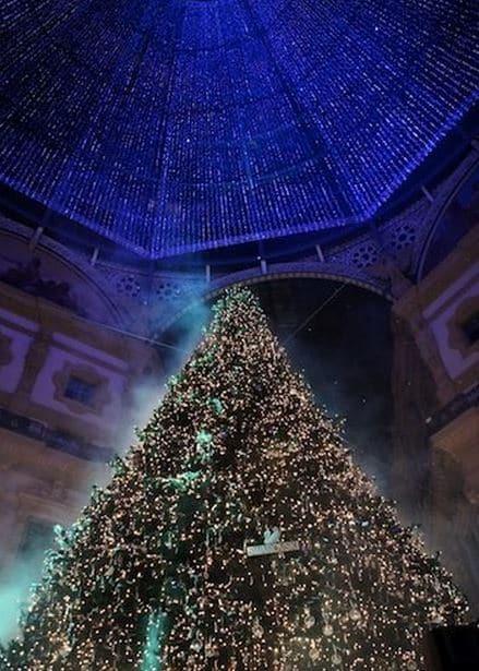 albero di natale Swarovski a Milano 2014