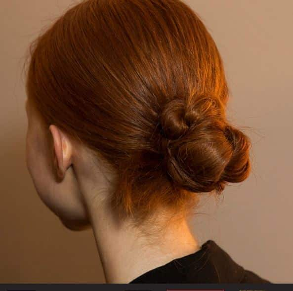 moda capelli primavera estate 2015 chignon
